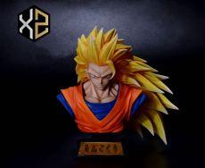 【Pre order】XZ Studio Dragon Ball Super Saiyan 3 SSJ3 Goku Bust Resin Statue Deposit