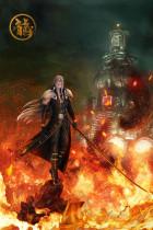 【Pre order】Dragon Studio Final Fantasy VII FF7 Sephiroth 1/4 Resin Statue Deposit