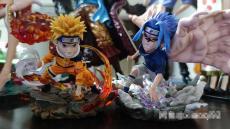 【In Stock】C-Studio Naruto Beast Mode Wcf Resin Statue