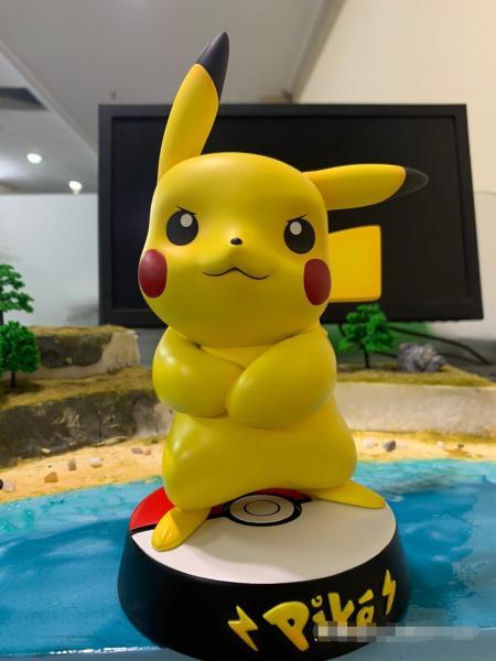 【In Stock】PPAP Studio Pokemon Angry Pikachu Resin Statue