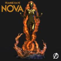【Pre order】ALPHA 3 Studio Marvel Comics Nova Frankie Raye Resin Statue Deposit