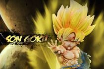 【Pre order】G5 Studio Dragon Ball Super Saiyan Goku WCF Resin Statue Deposit