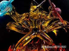 【In Stock】LX-Studio Naruto Three Heads Six Arms Nine Tails Fox Resin Statue