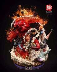 【Pre order】KIZUNA Studio One-Piece Monkey D Luffy Ace Sabo Three Brothers Resin Statue Deposit