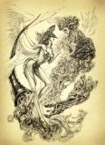 【Pre order】Ein Studio an Angel Series of Doom Horn No.2 Gabriel Resin Statue Deposit