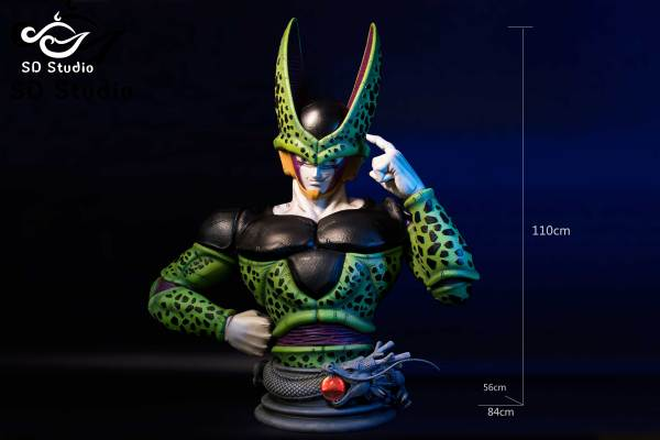 【Preorder】SD STUDIO Dragon Ball Z Perfect Cell Bust Resin Statue Deposit