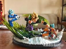 【In Stock】XCEED&ORS Studio Dragon Ball Super Goku Vegeta VS Broly  Resin Statue