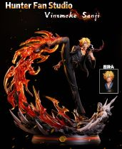 【Pre order】Hunter Fan Studios One Piece  Vinsmoke Sanji  Resin Statue Deposit