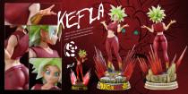 【Pre order】Panda Studio Dragon Ball Super Kefla 1/4 Scale Resin Statue Deposit