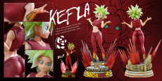 【Pre order】Panda Studio Dragon Ball Super Kefla 1/4 Scale Resin Statue Deposit