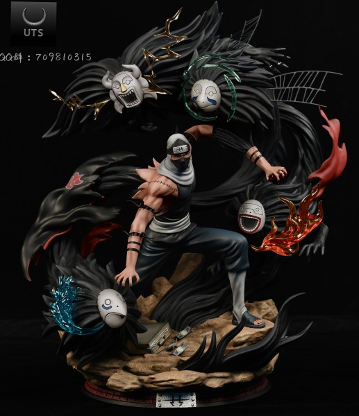 【Pre Order】UT Studio Naruto Akatsuki Kakuzu 1:7 Resin Statue Deposit
