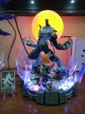 【In Stock】DIMWNSION POWER Studio Digital Monster WereGarurumon with Ishida Yamato Resin Statue