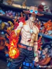 【In Stock】Dream Studio One Piece Portgas·D· Ace 1:5 Scale Resin Statue