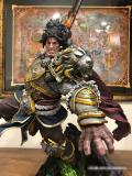 【In Stock】Faceted Pebble  Warcraft WOW Varian Wrynn  Resin Statue