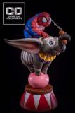 【Pre order】CO Signature DC Fat Spiderman Chubby Mum Mum Resin Statue Deposit