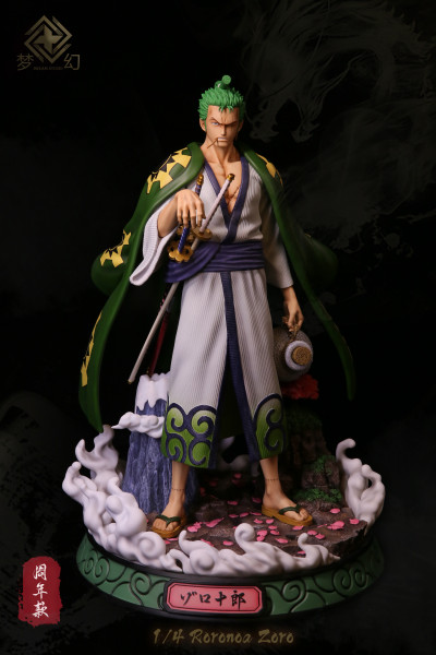 【Pre order】Dream Studio Anniversary One Piece Wano Zoro 1:4 Scale Resin Statue Deposit