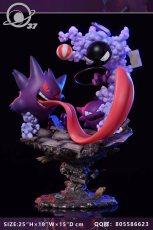【Pre order】 37lab Studio Pokemon Gastly Haunter Gengar Family ゴース Resin Statue Deposit