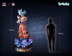 【In Stock】Infinite Studio Dragon Ball Super Goku Migatte no Gokui 1/1 Scale Resin Statue