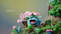 【Pre order】GENE Studio Pokemon The Forest Family Resin Statue Deposit