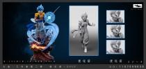 【Pre order】Big Fish Studio Dragon Ball Super Gogeta 1:6 Scale Resin Statue Deposit