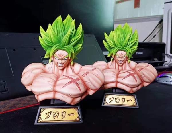 【In Stock】XZ Studio Dragon Ball Super Broly Bust Resin Statue