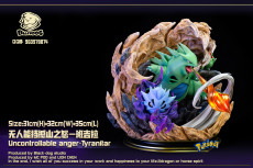 【Pre order】Black-Dog-Studio Pokemon  Tyranitar Resin Statue Deposit