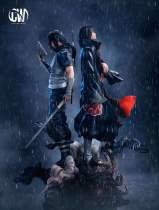 【Pre order】CW Studio Naruto Akatsuki&Assassin Uchiha Itachi 1:6 Resin Statue Deposit