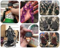 【In Stock】Demon Studio One Piece Bloody Bandaged Roronoa Zoro  Resin Statue