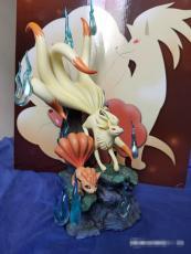 【In Stock】Moon Shadow Studio Pokemon Ninetales Family Resin Statue