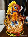 【In Stock】MX Studio Dragon Ball Z Goku SSJ3 Resin Statue Deposit
