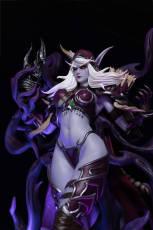 【In Stock】Windseeker Studio Warcraft/Dota Sylvanas Windrunner Resin Statue