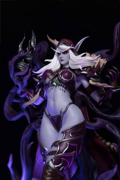 【In Stock】Windseeker Studio Warcraft/Dota Sylvanas Windrunner Resin Statue
