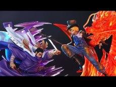 【Pre order】JacksDo One Piece Issho VS Sabo Resin Statue Deposit