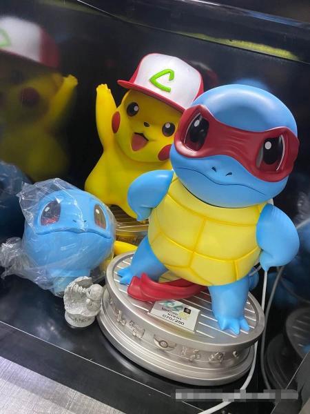 【In Stock】ZERO-TRIBE Studio Pokemon Squirtle Life size Resin Statue