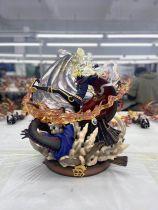 【In Stock】Magic Cube&JZ Studio One-Piece Black Vinsmoke Sanji 1/6 Scale Resin Statue
