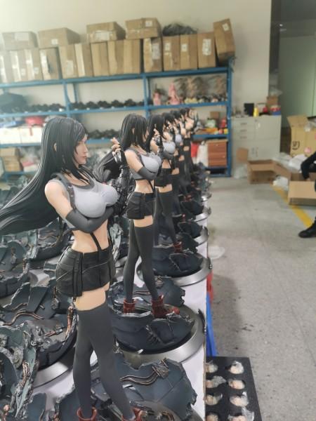 【In Stock】NEO O² Studio Final Fantasy VII FF7 Fighting goddess TIFA Resin Statue