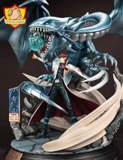 【Pre order】Dynamic studio Duel Monsters Yu-Gi-Oh​ 遊☆戯☆王Kaiba Seto with Blue Eyes White Dragon Resin Statue Deposit