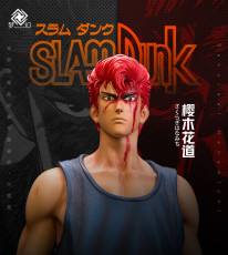 【Pre order】Dream Studio Studio SlamDunk Hanamichi Sakuragi Fight in the Stadium Resin Statue Deposit