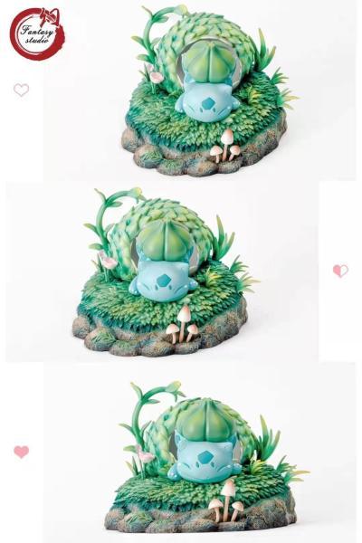 【Pre order】Fantasy Studio Pokemon Incubation Bulbasaur Resin Statue Deposit