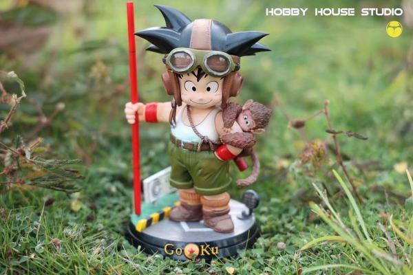 【Pre order】HobbyHouse Studio Dragon Ball Z Little Goku Resin Statue Deposit