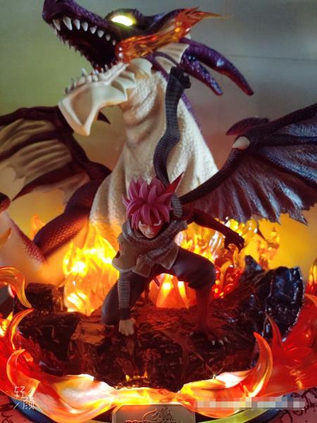 【In Stock】Twilight Studio Fairy Tail Fire Dragon Natsu 1/6 Resin Statue