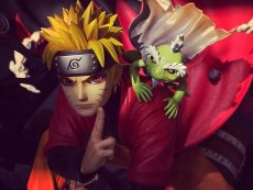 【In Stock】MH Studio Naruto Immortal mode Naruto うずまき ナルト  1:4 Scale Resin Statue