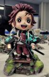 【In Stock】Showhand Studio​  Demon Slayer Kamado Tanjirou SD ​Resin Statue