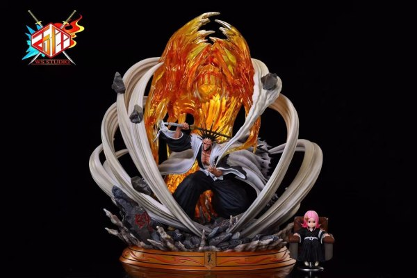 【Pre order】WS BLEACH Gotei 13 Resonance Series Zaraki Kenpachi Resin Statue Deposit