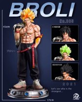 【Pre order】DP9 Studio Dragon Ball Fashion Broly Resin Statue Deposit