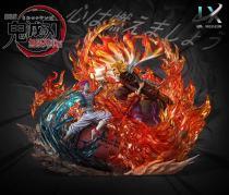 【Pre order】LX-Studios Demon Slayer:Rengoku VS Akaza あかざ  Resin Statue Deposit