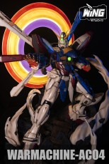 【Pre order】Wing Studio GUNDAM War Machine-AC04 機動武闘伝Gガンダム God Gundam 1/32 Scale Resin Statue Deposit