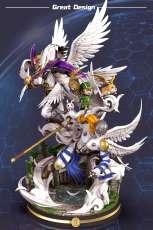【Pre order】Great Design Studio Digital Monster Holy Angemon Resin Statue Deposit