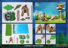 【In Stock】JacksDo Dragon Ball Z Upa & Bora and tent Resin Statue
