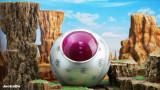 【Pre order】JacksDo Dragon Ball Z  Saiyan Attack Ball Round Spaceships Resin Statue Deposit